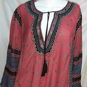 Free people but I like it printed blouse